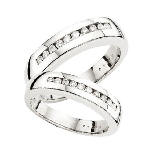 Nhẫn đôi bạc ND0279
