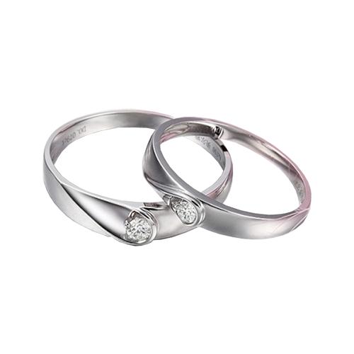 Nhẫn đôi bạc ND0280