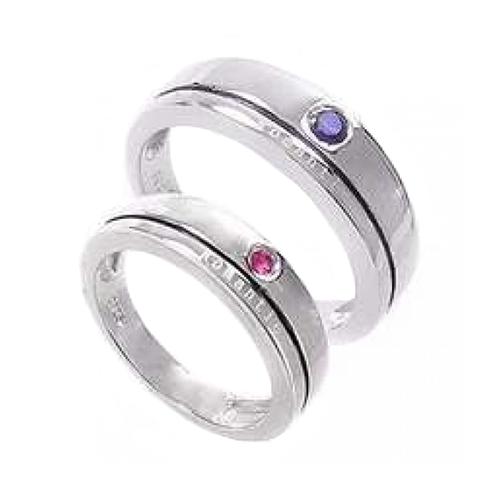Nhẫn đôi bạc ND0310