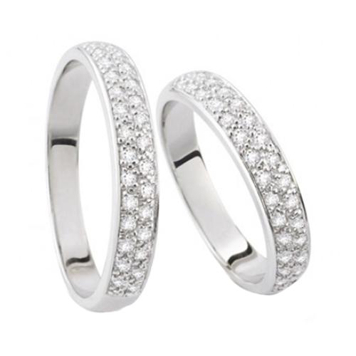 Nhẫn đôi bạc ND0353