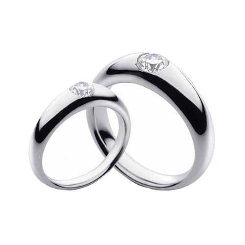 Nhẫn đôi bạc ND0358