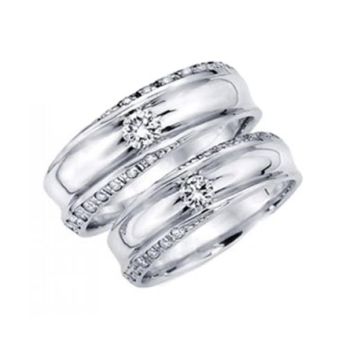 Nhẫn đôi bạc ND0364