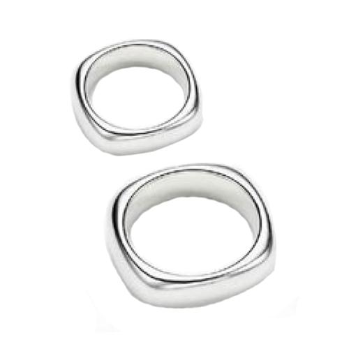 Nhẫn đôi bạc ND0366