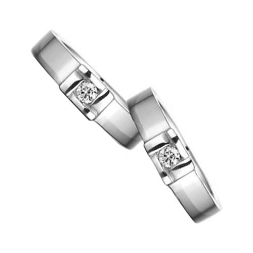 Nhẫn đôi bạc ND0368