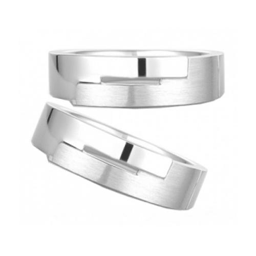 Nhẫn đôi bạc ND0369