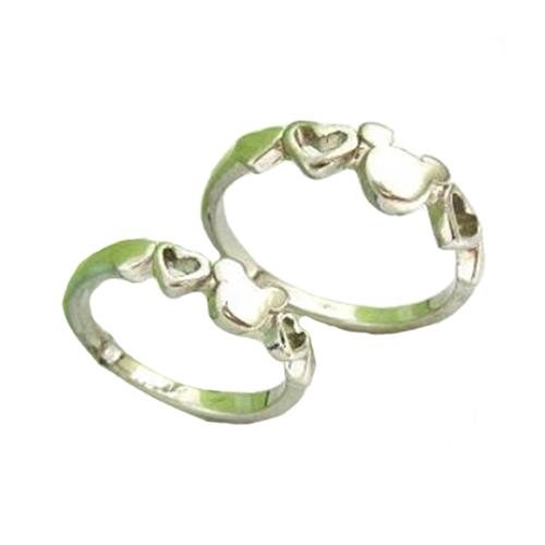 Nhẫn đôi bạc ND0502
