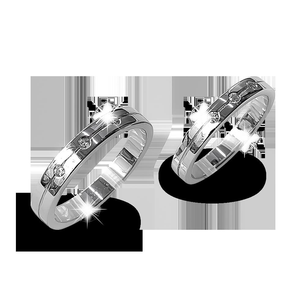 Nhẫn đôi bạc ND1166