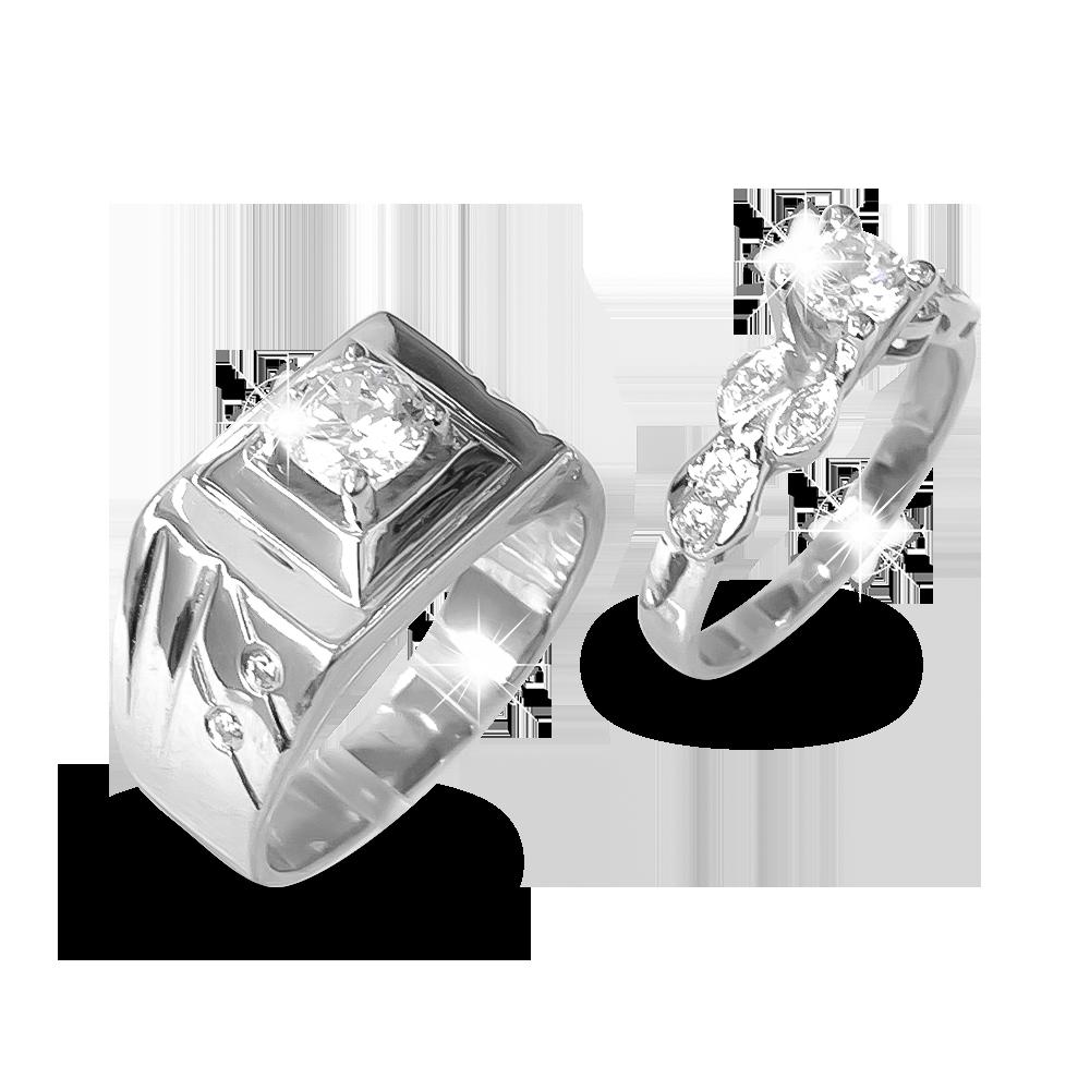 Nhẫn đôi bạc ND1191