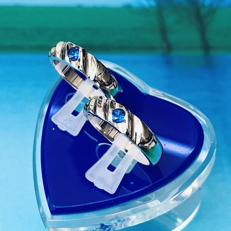 Nhẫn đôi bạc ND1153