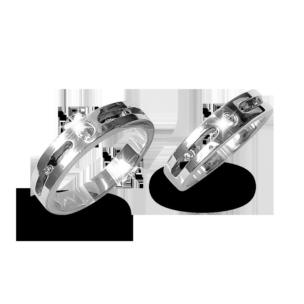 Nhẫn đôi bạc ND1179