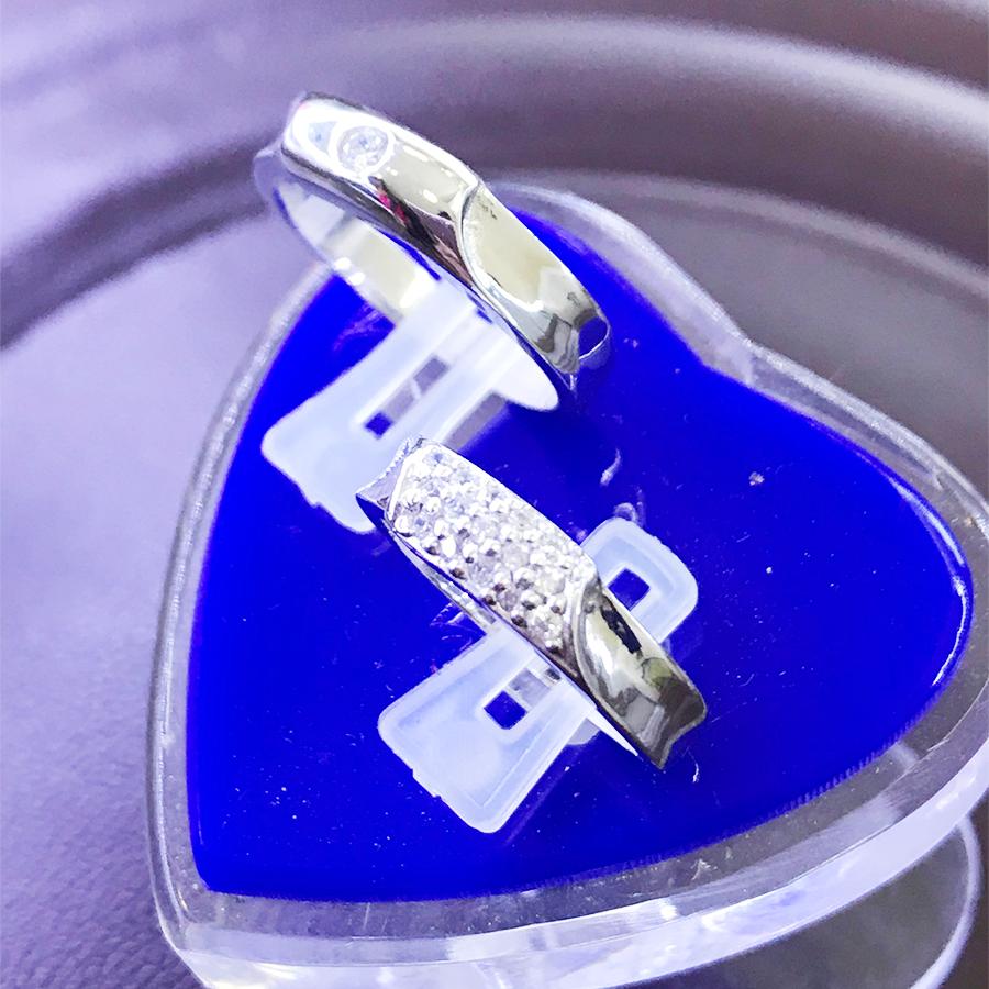 Nhẫn đôi bạc ND1101
