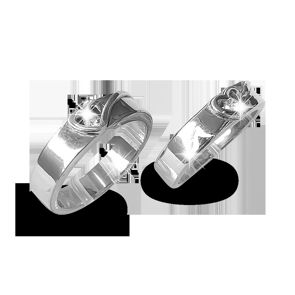 Nhẫn đôi bạc ND1188