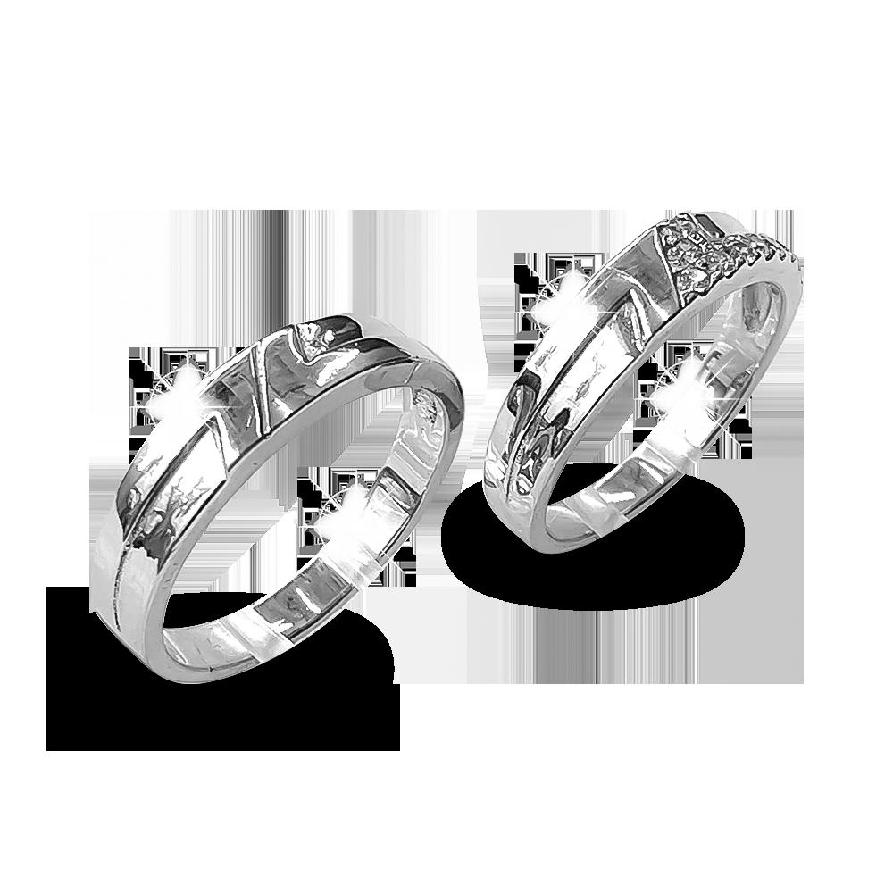 Nhẫn đôi bạc ND1174