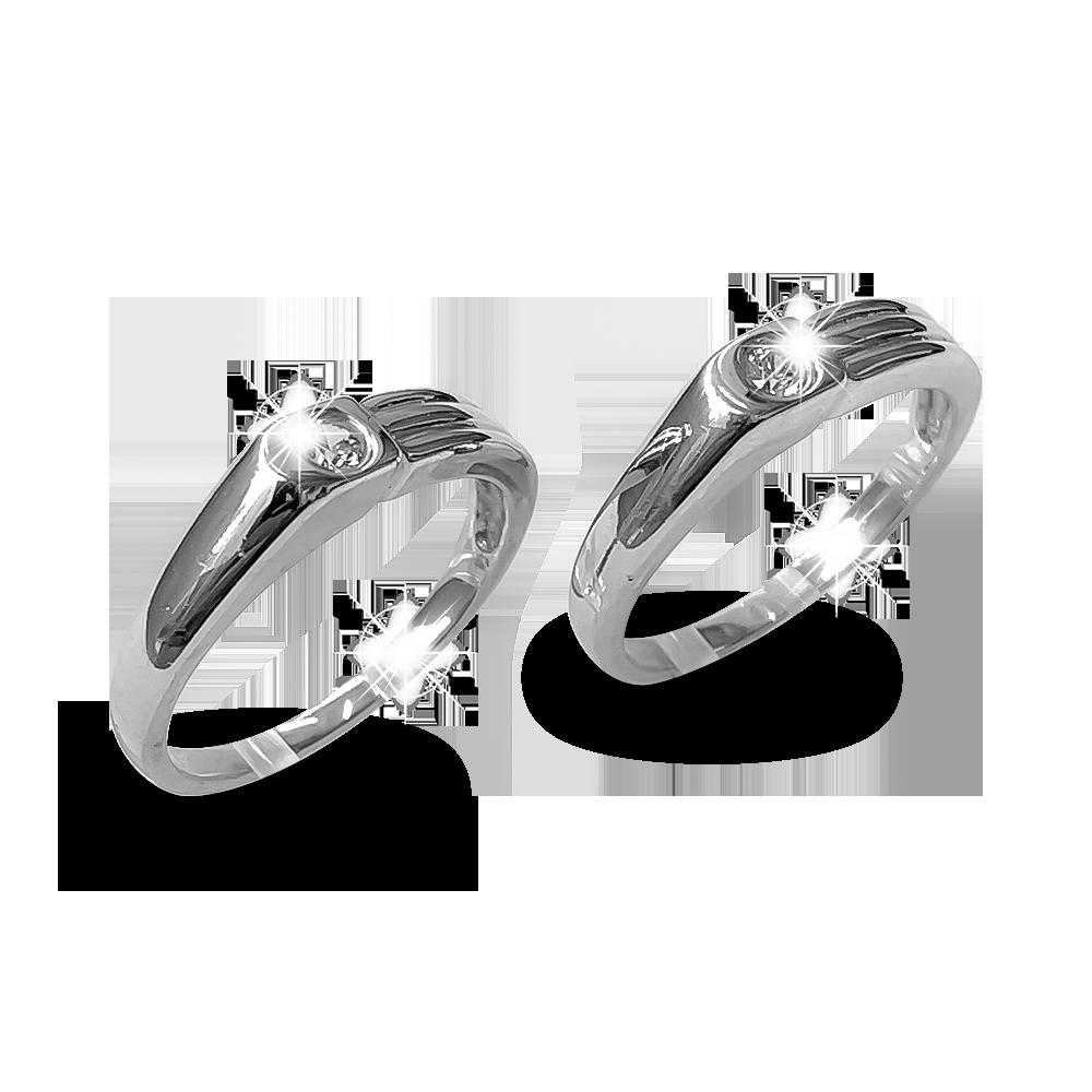 Nhẫn đôi bạc ND1178