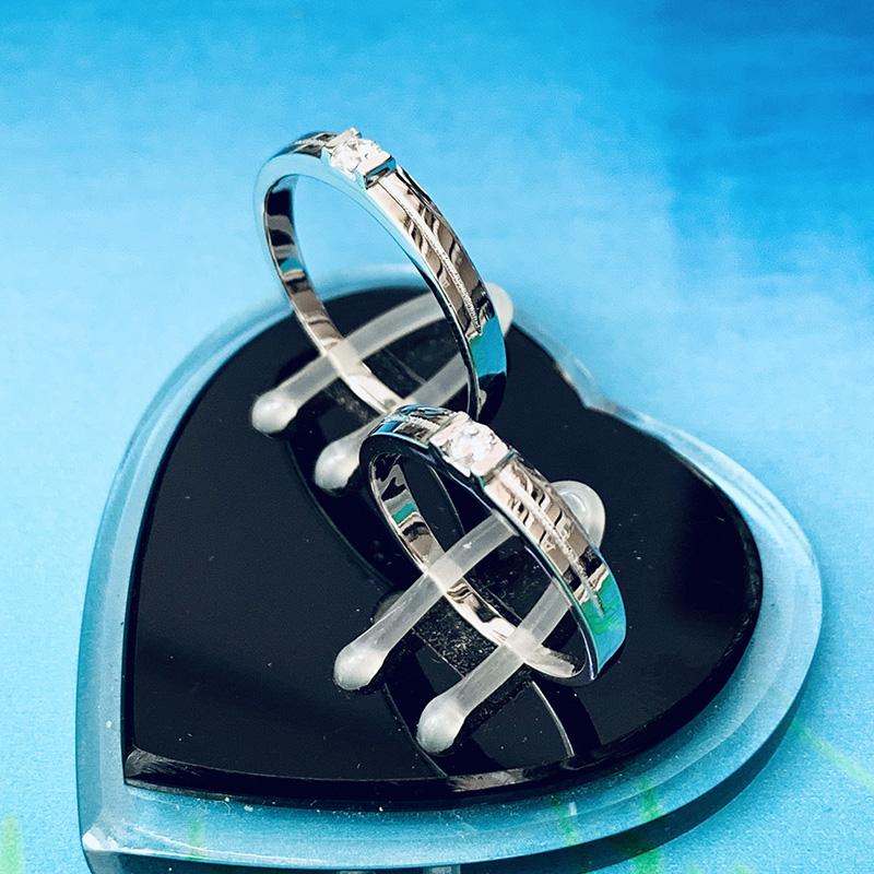 Nhẫn đôi bạc ND1145