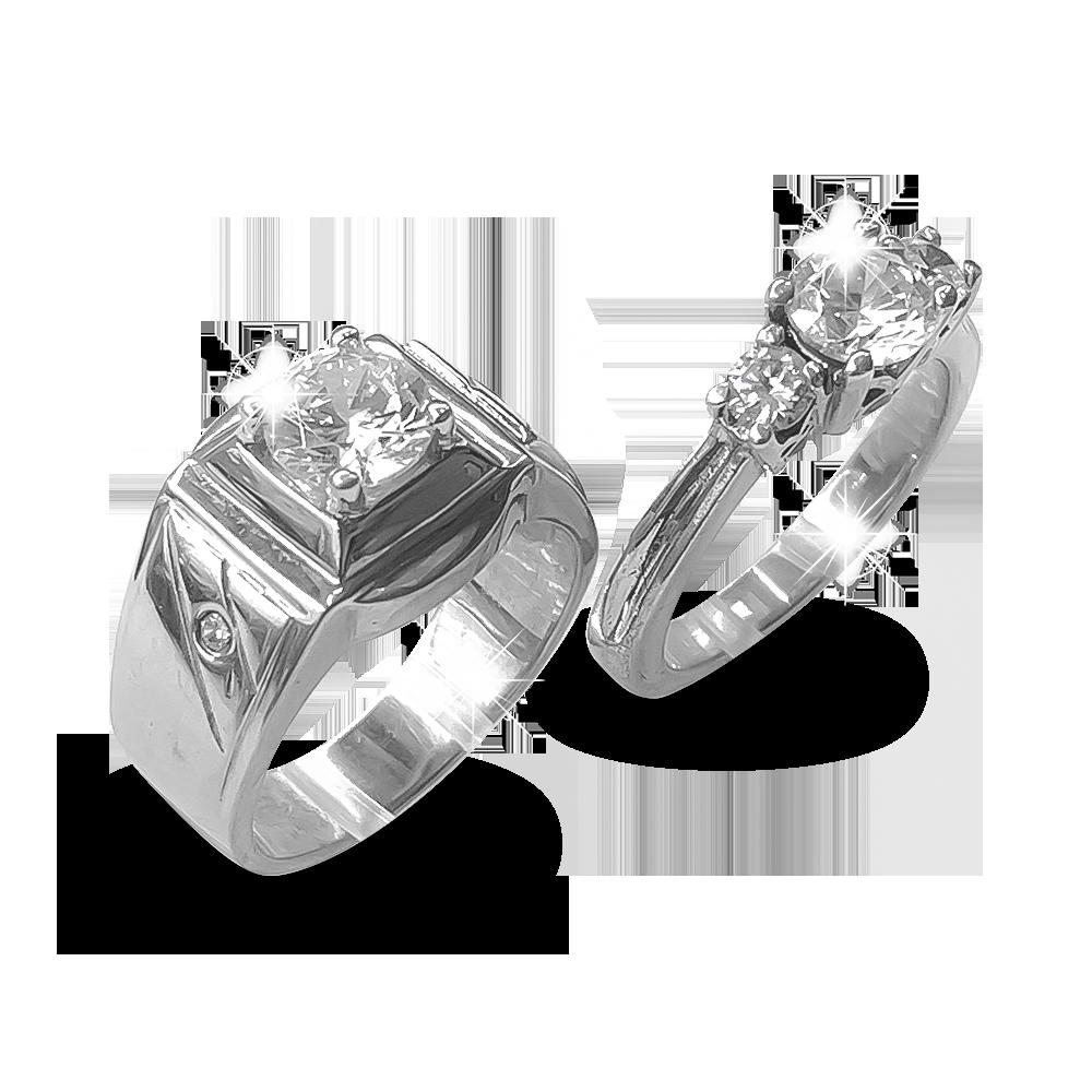 Nhẫn đôi bạc ND1175