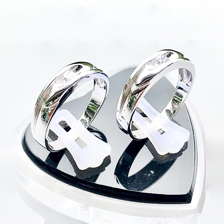 Nhẫn đôi bạc ND1093