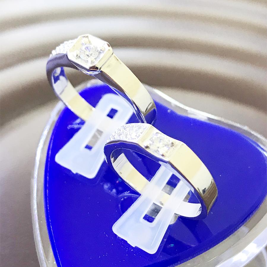 Nhẫn đôi bạc ND1109