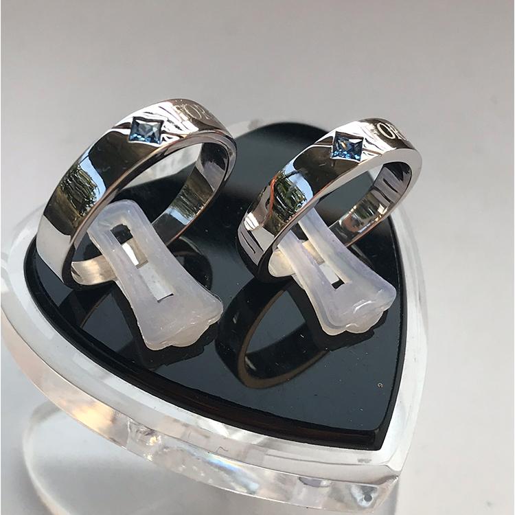 Nhẫn đôi bạc ND1010