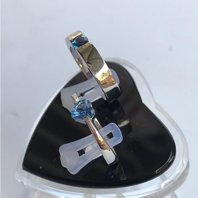 Nhẫn đôi bạc ND1015