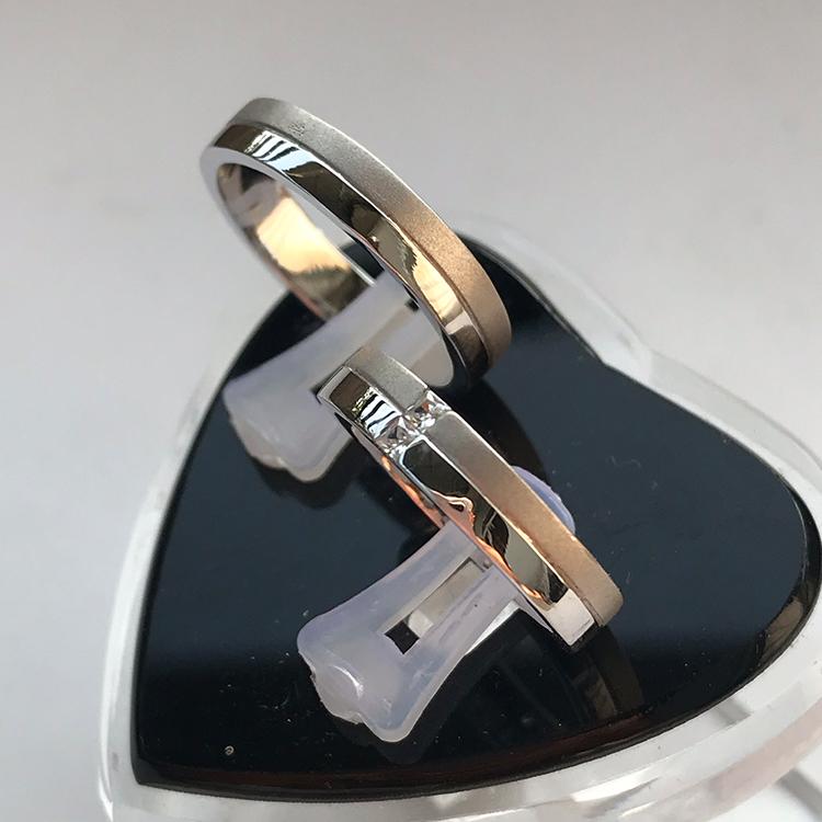 Nhẫn đôi bạc ND1016